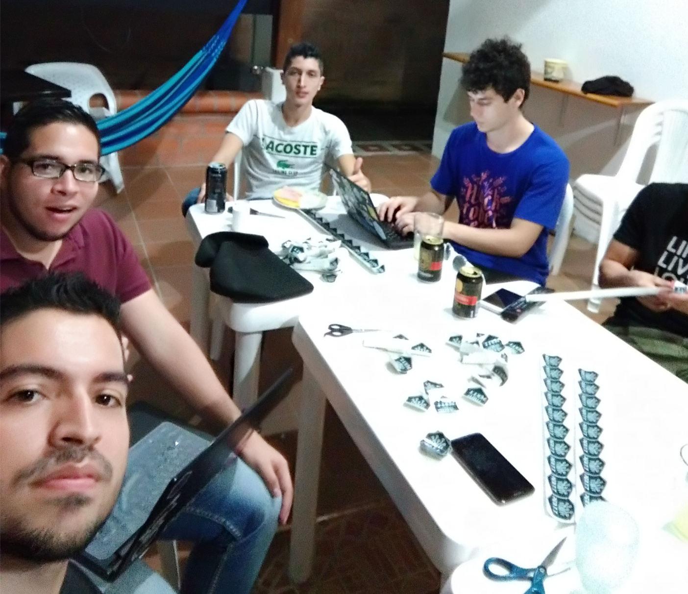 Hackaton de planificación de actividades 2018