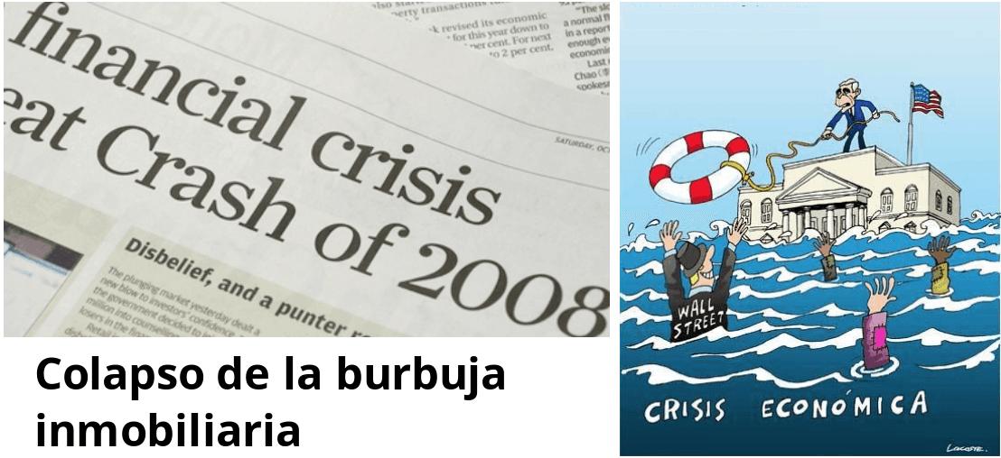 Fig.8 Crisis hipotecaria de 2008 en Wall Street