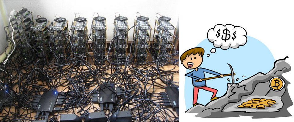 Fig.15 Minería en la red Bitcoin